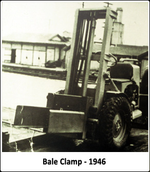 Bale Clamp 1946 - Forklift Attachments - John Harder & Company