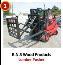 R.N.S Wood Products - Lumber Pusher