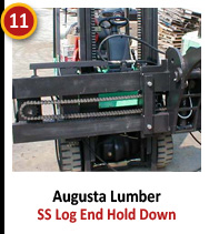 Augusta Lumber - SS Log End Hold Down