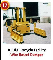 A.T.&T. Recycle Facility - Wire Basket Dumper