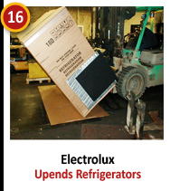 Electrolux - Upends Refrigerators