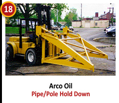Arco Oil - Pipe/Pile Hold Down