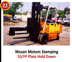 Nissan Motors Stamping - SS/FP Plate Hold Down