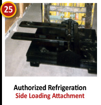 Authorized Refrigeration - Side Loading Attachment