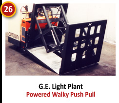 G.E. Light Plant - Powered Walky Push Pull