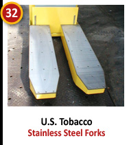 U.S. Tobacco - Stainless Steel Forks