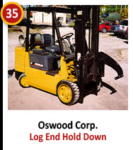 Oswood Corp. Log End Hold Down