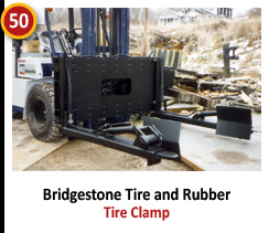 Bridgestone Tire and Rubber - Tire Clamp