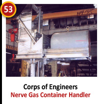 Corps of Engineers - Nerve Gas Container Handler