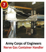 Army Corps of Engineers - Nerve Gas Container Handler
